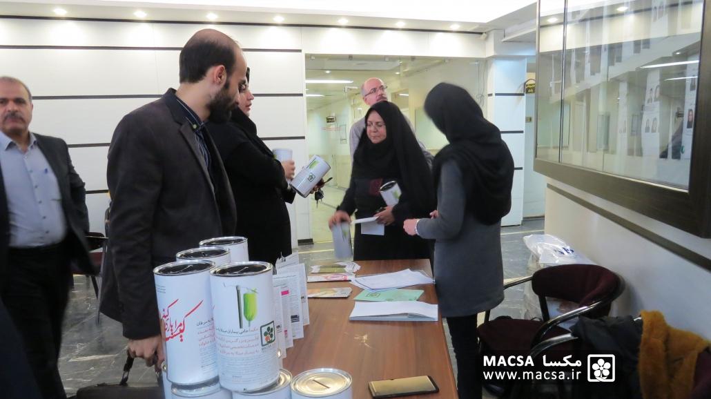 توزیع قلک و جذب مشارکتهای مردمی در همایش طب تسکینی