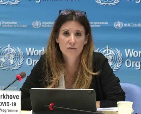 نشست خبری سازمان جهانی بهداشت برای ویروس جدید کرونا در انگلستان و آفریقای جنوبی